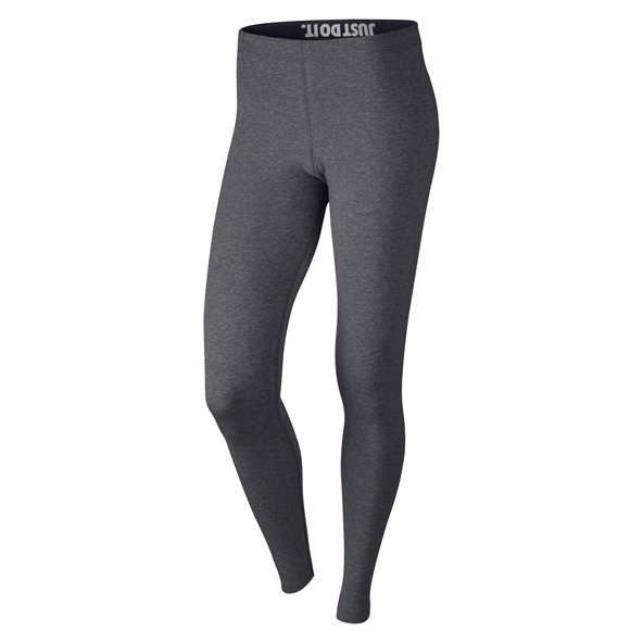 Nike Swoosh Leg-A-See Womens Tights Grey