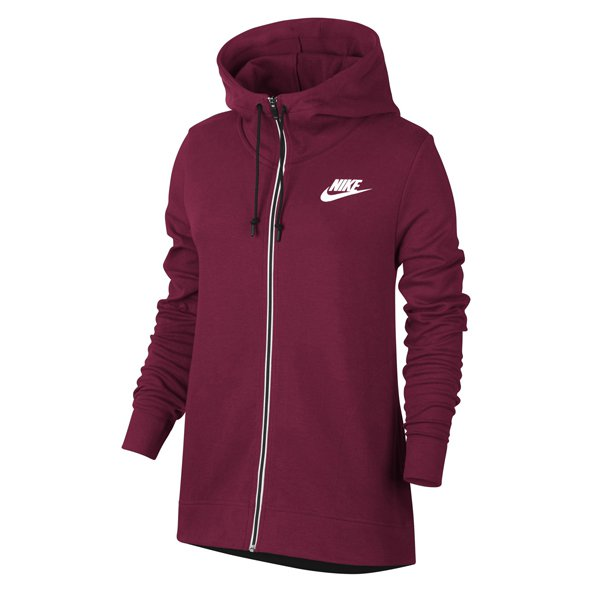 Nike Advance 15 Women's Full Zip Hoody, Red