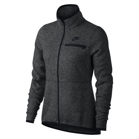 Nike Swoosh Summit Women's FZ Hoody, Black