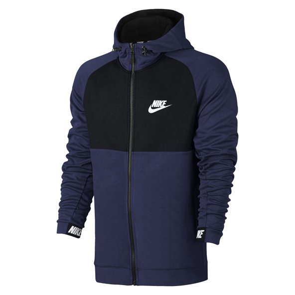 Nike Advance 15 Men's Full Zip Hoody, Blue