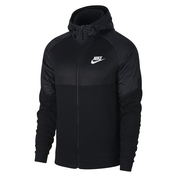 Nike Advance 15 Men's Full Zip Hoody, Black
