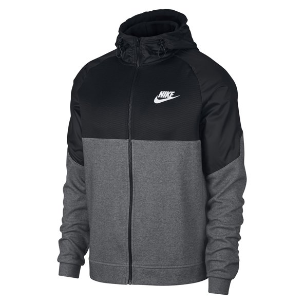Nike Advance 15 Men's Full Zip Hoody, Grey