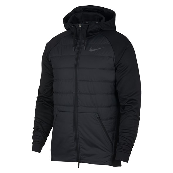 Nike Therma Full Zip Men's Jacket, Black