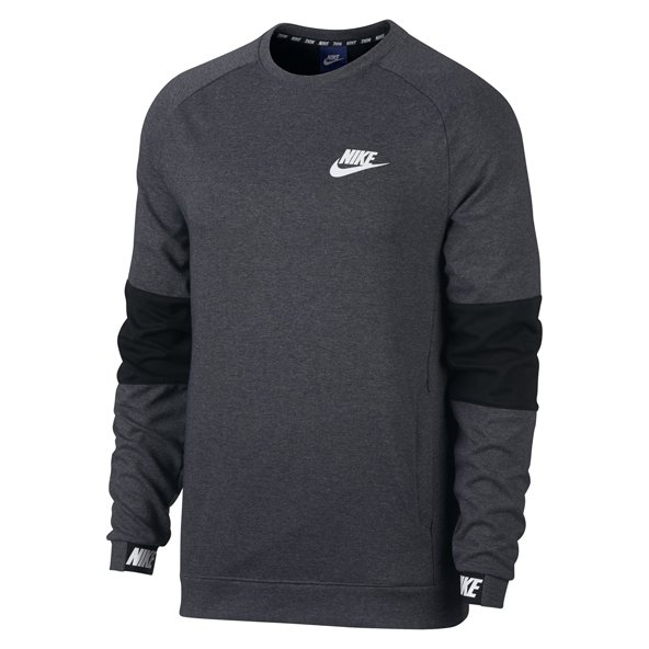 Nike Advance 15 Men's Crew Sweatshirt, Grey