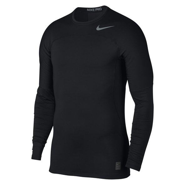 Nike Pro Hyperwarm Men's Fitted Top, Black