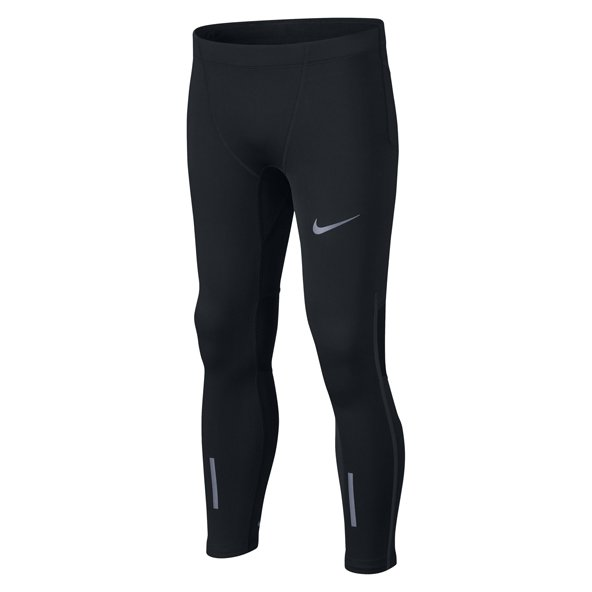 Nike Power Tech Boys' Running Tight, Black