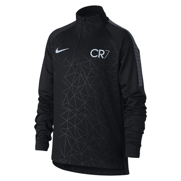Nike Dry Squd Dril CR7 Boys Top Black/Bl