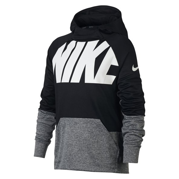 Nike Therma Boys' Training Hoody, Black