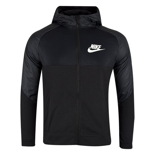 Nike Advance 15 Boys' Full Zip Hoody, Black