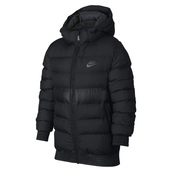 Nike Swoosh Stadium Boys' Jacket, Black