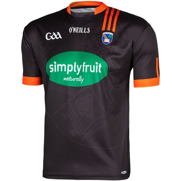O'Neills Armagh Away Jersey Black