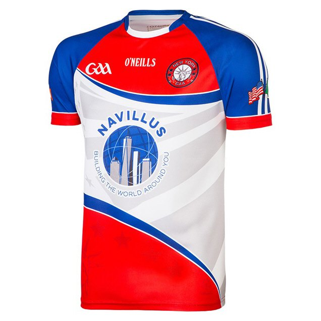 O'Neills New York Home 17 Jersey White/Red