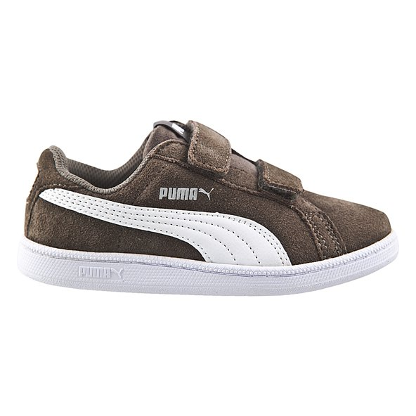 Puma Smash FUN SD Junior Boys' Trainer, Grey