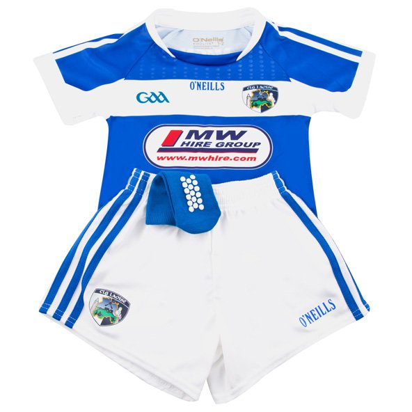 O'Neills Laois 2017 Kids' Home Kit, Blue