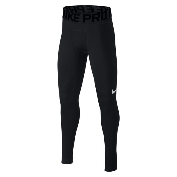 Nike Pro Warm Boys' Tight, Black
