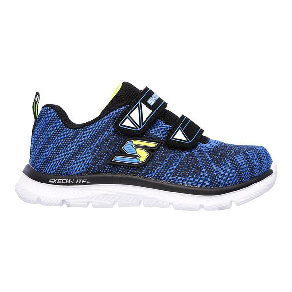 Skechers Lite Comfy Stepz Infant Boys' Trainer, Navy