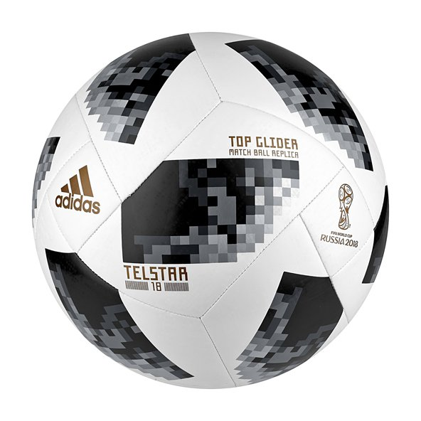 adidas World Cup 2018 Top Glider Ball, White