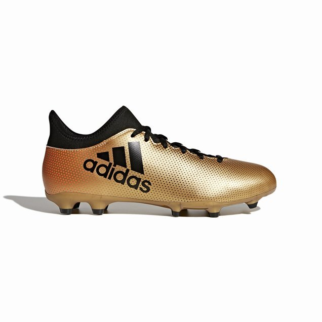 adidas X 17.3 FG Football Boot, Gold