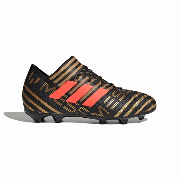 adidas Nemeziz Messi 17.1 FG Kids' Football Boot, Black