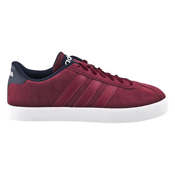 adidas Court Vulc Men's Trainer, Burgundy