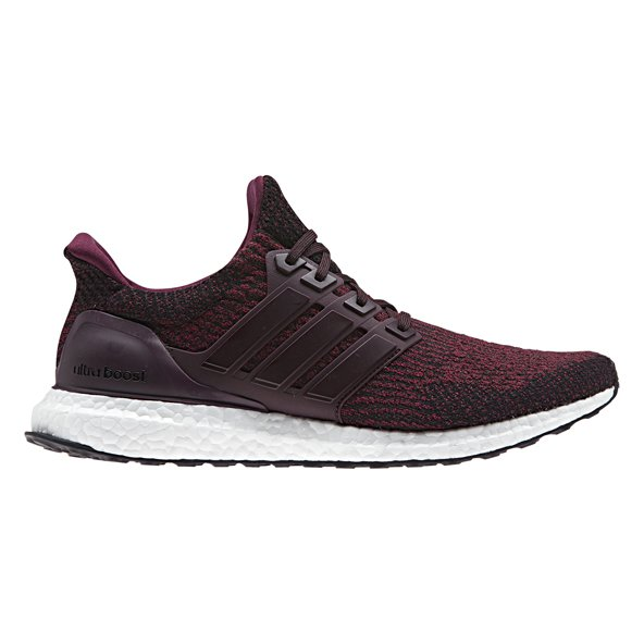 adidas UltraBOOST Men's Running Shoe, Burgundy