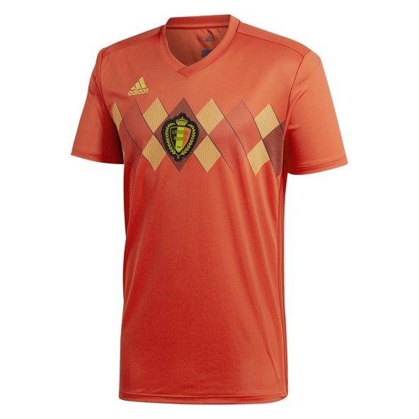 adidas Belgium 2018 Home Jersey, Red