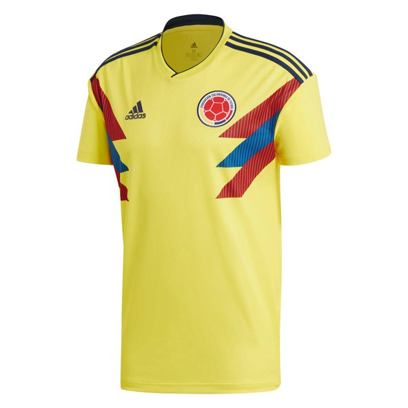 adidas Colombia 2018 Home Jersey, Yellow