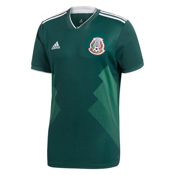 adidas Mexico 2018 Home Jersey, Green