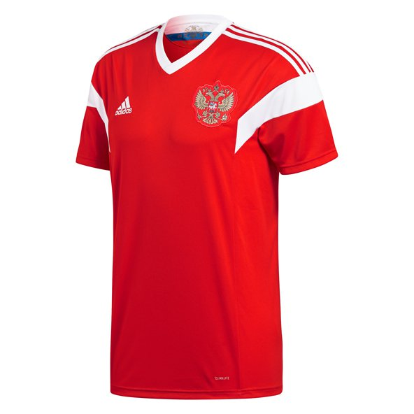 adidas Russia 2018 Home Jersey, Red