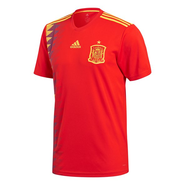 adidas Spain 2018 Home Jersey, Red