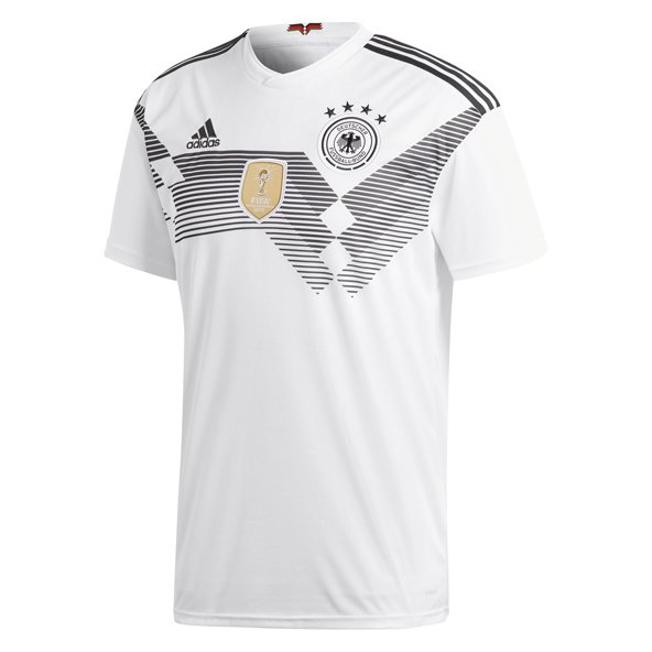 adidas Germany 2018 Kids' Home Jersey, White