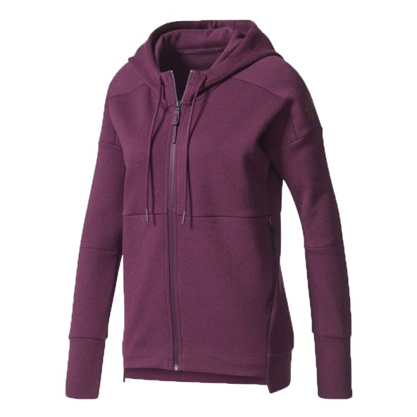 adidas Stadium Women's Full Zip Hoody, Maroon