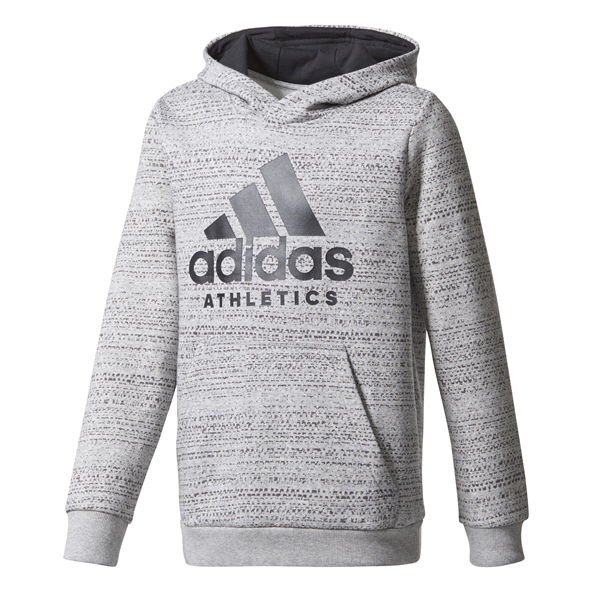 adidas Sports ID  Boys' Hoody, Grey