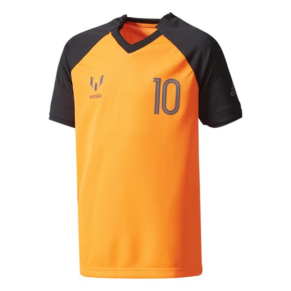 adidas Messi Icon Boys' T-Shirt, Orange