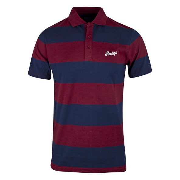 Henleys Carriage Men's Polo, Maroon