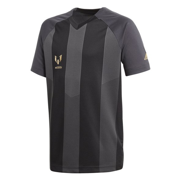 adidas Messi Icon Boys' T-Shirt, Black