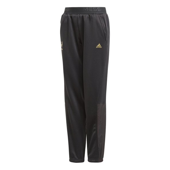 adidas Messi Boys' Knit Pant, Black