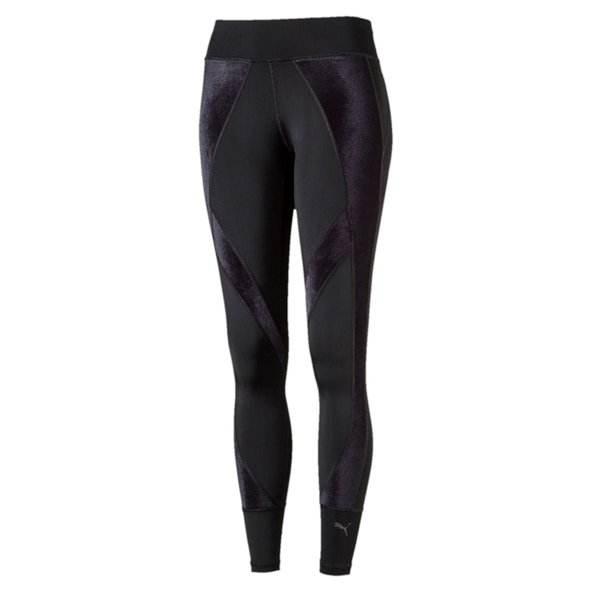 Puma Explosive Tight Velvet Women's Pants Black