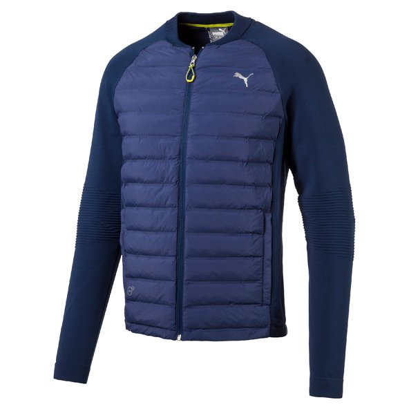 Puma EvoKnit Padded Men's Running Jacket, Navy