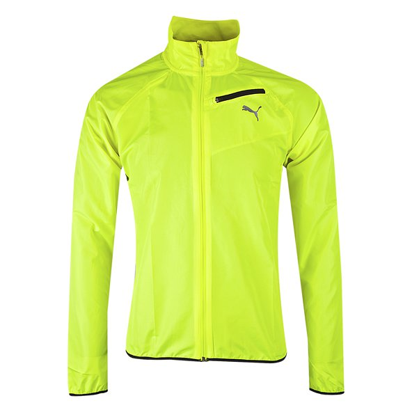 Puma Bolt Core-Run Men's Wind Jacket, Yellow