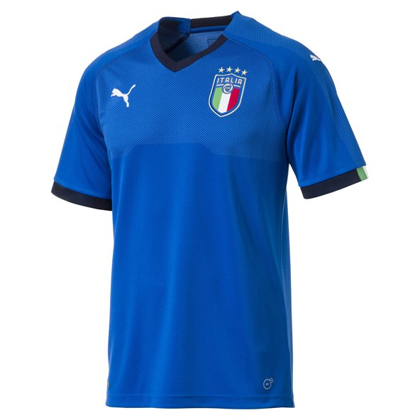 Puma Italy 2017/18 Home Jersey, Blue