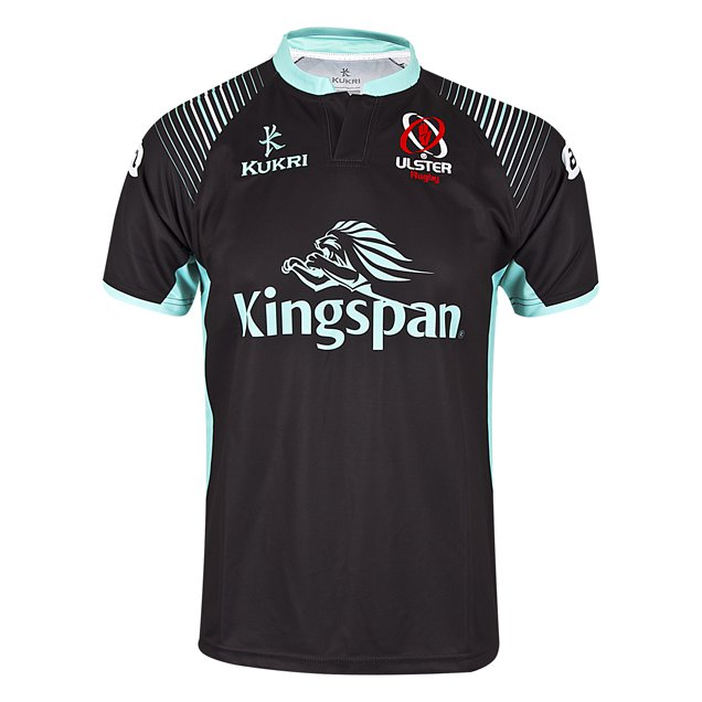 Kurki Ulster 2017 Kids' Away Jersey, Black