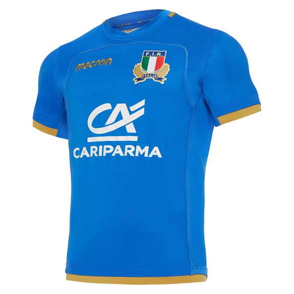 Macron Italy 2017/18 Home Jersey, Blue