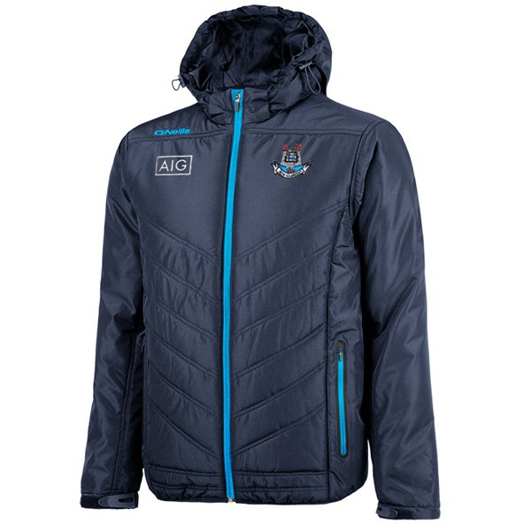 O'Neills Dublin Slaney Men's Padded Jacket, Navy