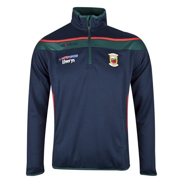 O'Neills Mayo Slaney Men's ½ Zip Squad Top, Navy