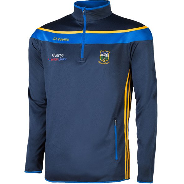 O'Neills Tipperary Slaney Kids' ½ Zip Squad Top, Navy