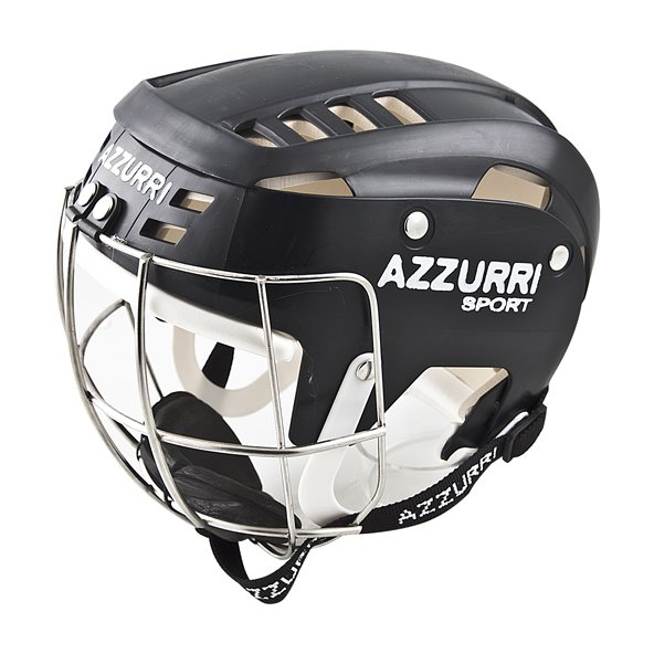 Azzuri Hurling Helmet Black