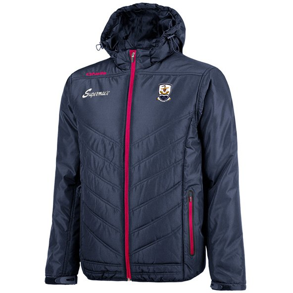 O'Neills Galway Slaney Men's Padded Jacket, Navy