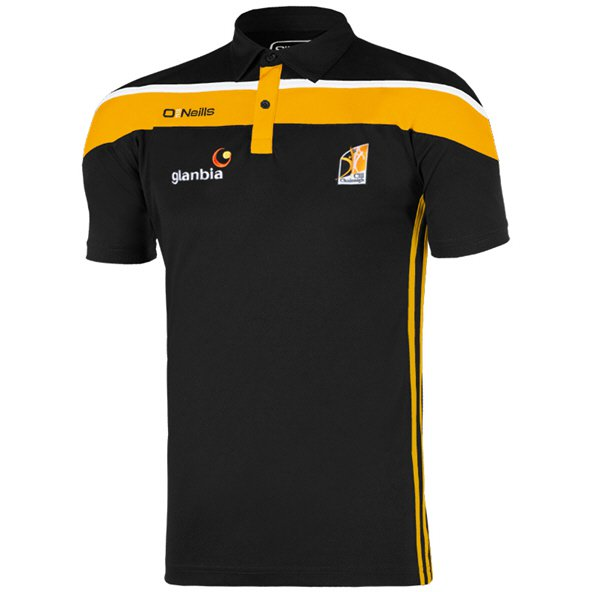 O'Neills Kilkenny Slaney Men's Polo Shirt, Black