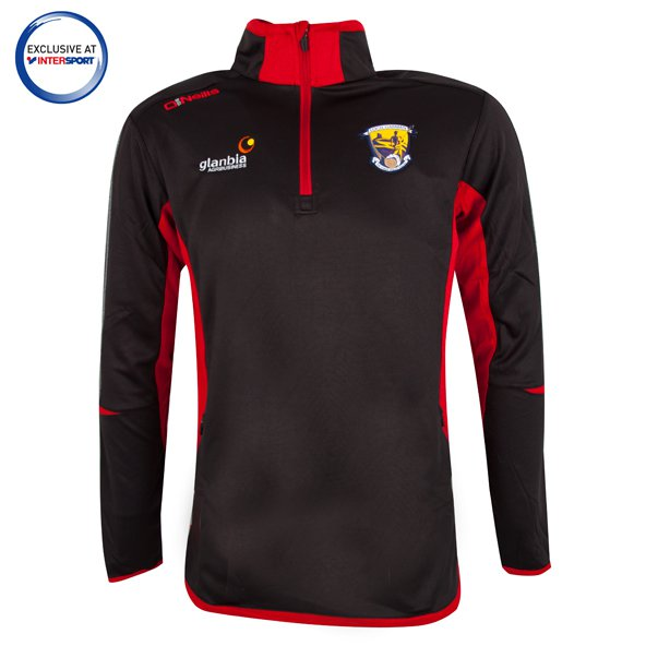 O'Neills Wexford HZ Squd Top Blk/Red